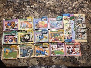Lot of LEAPFROG LITTLE TOUCH Infant Toddler 12 Cartridges  Books Leap Pad