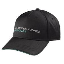 Mercedes-Benz Fan Cap Basecap Petronas Formel1 Mütze DTM Motorsport AMG schwarz