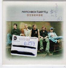 (FG991) Matchbox Twenty, Disease - 2003 DJ CD