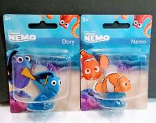 Brand New Lot 2 Finding Nemo Mattel Collectible Mini Figures Nemo & Dory Age 3+
