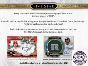 David Ortiz 2021 Topps Five Star Baseball 2Case 16Box Break