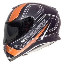 Full Face MT Helmets with Integrated Sun Visor