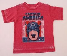 Marvel Captain America Toddler T-Shirt Size 3T Burgundy NWT
