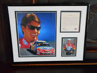 1996 Jeff Gordon #24 11x14 KRS Matted Art Display Picture Framed Limited #6540