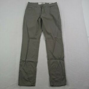 New Brax Feel Good Pants Mens 33x32 Green Cooper Fancy Regular Fit Straight