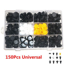 150Pcs Universal Car Plastic Push Pin Rivet Fastener Trim Moulding Retainer Clip