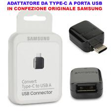Adattatore Tipo C Type-C PORTA USB OTG Originale Samsung S8 Plus Note 8 j5 2017