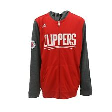 Los Angeles Clippers NBA Adidas Kids Youth Size Full Zip Hooded Light Sweatshirt