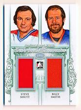 2013-14 ITG Used Steve Shutt & Billy Smith Enshrined Classmates Dual Jersey /50