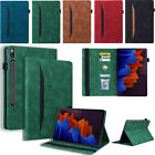 For Samsung Galaxy Tab A 8.0 A7 S7 S7+ Plus Tablet Leather Flip Stand Case Cover