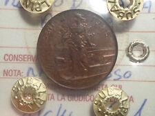 REGNO D' ITALIA PRORA 2 CENT 1915 RAME ROSSO SIGILLATA FDC NUMISMATICA SUBALPINA