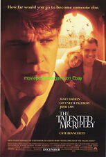 Talented Mr. Ripley Movie Poster Ss 27x40 Matt Damon Gweneth Paltrow