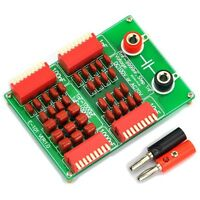 1nF to 9999nF Step-1nF Four Decade Programmable Capacitor Board, 100VDC/70VAC.