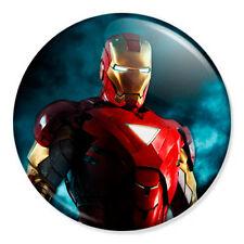 "Iron Man Mk 6  25mm 1"" Pin Badge Button Marvel Avengers Robert Downey Tony Stark"
