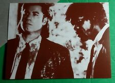 PULP FICTION BUTTERFLY SUITS TRAVOLTA JACKSON SEPIA 4x6 MOVIE POSTCARD POSTER