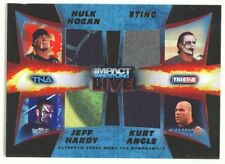 "JEFF HARDY HULK HOGAN STING ANGLE ""QUAD MEMORABILIA /50"" TNA IMPACT LIVE 2013"