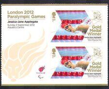 GB 2012 Juegos Paralímpicos/Olimpiadas/Deportes/ganadores de medalla de oro/J Applegate 2 V + (n36320)