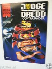 DUTCH COMIC VERHALEN UIT DE MEGA STEDEN ARBORIS 1995 JUDGE DREDD CONTRA RAIDER 7