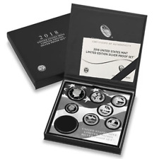 2018-S U.S. Mint Limited Edition Silver Proof Set Without Silver Eagle
