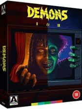 Demons 1 and 2 (Blu-Ray, 2021, 2 Discs, Limited Edition)