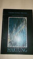 Hartung  et la vérité pratique de la peinture 1984