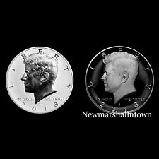 2018 S Kennedy Half Dollar Reverse Silver and Clad Proof from Proof Set