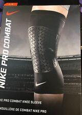 Nike Adult Unisex Pro Combat Knee Sleeve Size X Large- New In Box