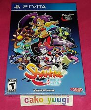 SHANTAE 1/2 HALF GENIE HERO RISKY BEATS EDITION PS VITA NEW SEALED VERSION USA