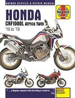 Honda Africa Twin CRF1000 A2 D2 Adventure Sport 2016 - 2019 Haynes Manual 6434
