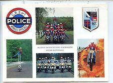 CP - Carte Postale - Peloton motocycliste Police Nationale - CRS n°1 - Moto