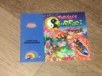 T&C Surf Designs Thrilla's Safari Instruction Manual Booklet Nintendo Nes