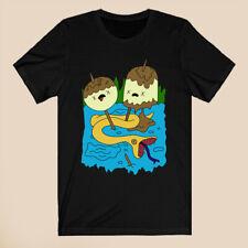 Princess Bubblegum's Rock Adventure Time Men's Black T-Shirt Size S-3XL