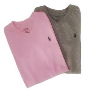 Genuine Ralph Lauren girls T shirt new high V neck 2 pk 2 T for age 1.5 to 2