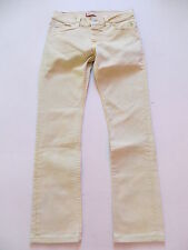 Levi's® 511 Skinny Jeans Hose W 33 /L 32, Gelb ! Yellow coloured Denim, UNIKAT !