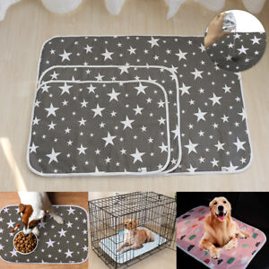 Washable Potty Pee Wee Pads for Dogs Leak-proof Training Whelping Mat Kenne S-Ll
