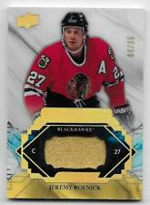 19/20 UPPER DECK ENGRAINED RARE REMNANTS GAME USED STICK Jeremy Roenick #4/35