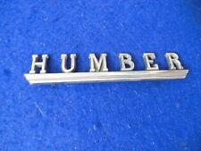 Original Humber Script Badge Humber Sceptre Super Snipe