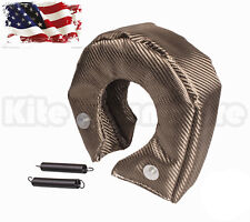 Titanium Turbo Blanket Heat Shield Barrier Turbo Charger Cover T6 T88 T5