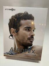 Aftershokz Aeropex Wireless Bone Conduction Headphones (Bluetooth)(Cosmic Black)