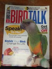 **BIRD TALK MAGAZINE Jul 10 Senegal Meyers Poicephalus Teach Parrot to Talk