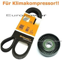 Keilrippenriemen+Spannrolle Für BMW E46 E39 E38 X5 E53 330 d-330 xd-525 d-730 d