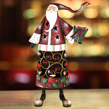 X-MAS table stand lamp Christmas man red white living room decoration stone lamp