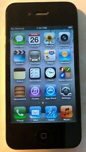 Apple iPhone 4 Black (AT&T) A1332 8GB GSM Fast Shipping Excellent Used