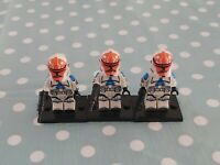 Custom Compatible (With Lego) Star Wars Clone Troopers (read description) X3
