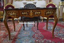 Scrivania stile Luigi XV a tre cassetti