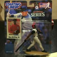 F62 2000 KEN GRIFFEY JR REDS Starting Line Up NEW NIB FREE SHIPPING