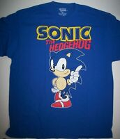 Gamers' Sonic The Hedgehog Mens X-Large Unisex T-Shirt - New