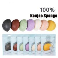 Natural Jelly Konjac Wash Konnyaku Fiber Face Deep Cleansing Makeup Puff Sponge