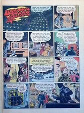Brenda Starr by Dale Messick - full tab page color Sunday comic - March 9, 1958