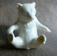 LENOX CHINA JEWELS COLLECTION BEAR 1991 ISSUE